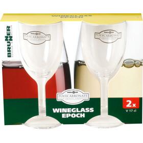 Brunner Epoch Zestaw kieliszków do białego wina, durchsichtig